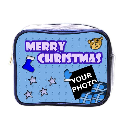 Christmas Mini Toiletries By Matematicaula   Mini Toiletries Bag (one Side)   Ku9x28z2eamz   Www Artscow Com Front