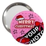 CHRISTMAS HANDBAG MIRROR - 3  Handbag Mirror