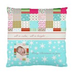 patchwork - Standard Cushion Case (One Side)