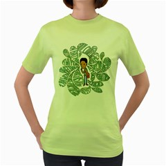 Cool Cool Cool Womens  T Shirt (green) by Contest1741955