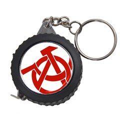 Hammer Sickle Anarchy Measuring Tape by youshidesign
