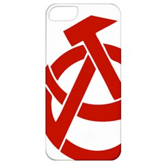 Hammer Sickle Anarchy Apple Iphone 5 Classic Hardshell Case by youshidesign