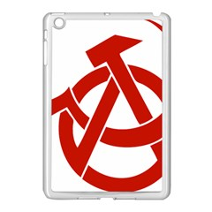Hammer Sickle Anarchy Apple Ipad Mini Case (white) by youshidesign