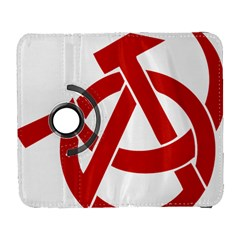 Hammer Sickle Anarchy Samsung Galaxy S  III Flip 360 Case