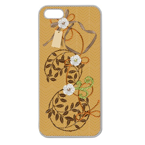 Caramel Iphone Case By Zornitza   Apple Seamless Iphone 5 Case (clear)   H3otvbf5tjxd   Www Artscow Com Front