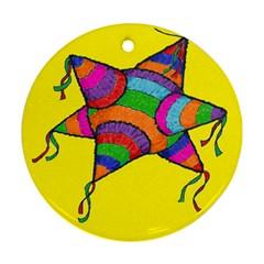 la piNata Round Ornament