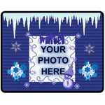 Winter medium blanket - Fleece Blanket (Medium)