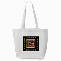 Black And Gold Tote Bag By Deborah   Tote Bag (cream)   7fk1ts6ow6m7   Www Artscow Com Front