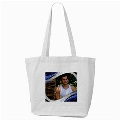 Blue Wave Tote Bag By Deborah   Tote Bag (cream)   Vmdgx7y0bwww   Www Artscow Com Back