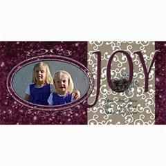 Christmas Cards 3 By Emily   4  X 8  Photo Cards   Rwtathcdb69m   Www Artscow Com 8 x4 Photo Card - 7