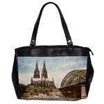 Cologne Oversize Office Handbag (Two Sides)