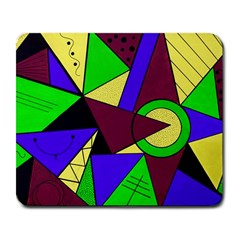 Modern Large Mouse Pad (rectangle) by Siebenhuehner