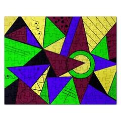 Modern Jigsaw Puzzle (rectangle) by Siebenhuehner
