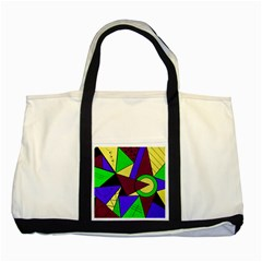 Modern Two Toned Tote Bag by Siebenhuehner