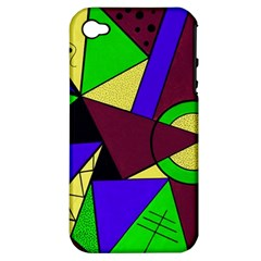 Modern Apple Iphone 4/4s Hardshell Case (pc+silicone) by Siebenhuehner