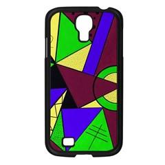 Modern Samsung Galaxy S4 I9500/ I9505 Case (black) by Siebenhuehner