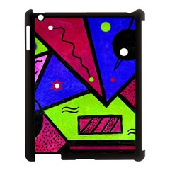 Modern Art Apple Ipad 3/4 Case (black) by Siebenhuehner