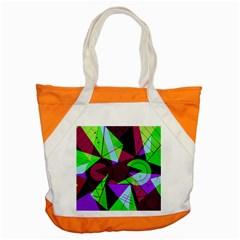 Modern Art Accent Tote Bag by Siebenhuehner