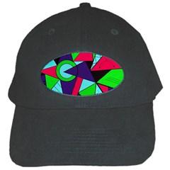 Modern Art Black Baseball Cap by Siebenhuehner