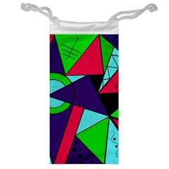 Modern Art Jewelry Bag by Siebenhuehner