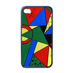 Modern Art Apple Iphone 4 Case (black) by Siebenhuehner