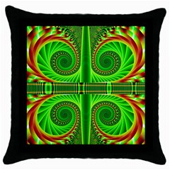 Design Black Throw Pillow Case by Siebenhuehner