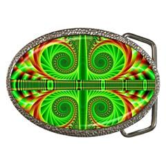Design Belt Buckle (oval) by Siebenhuehner