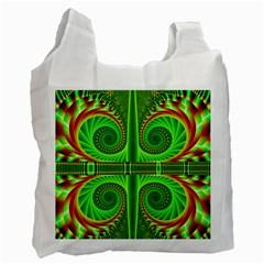 Design Recycle Bag (one Side) by Siebenhuehner