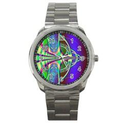 Design Sport Metal Watch by Siebenhuehner