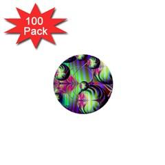 Balls 1  Mini Button (100 Pack) by Siebenhuehner