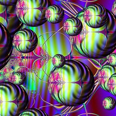 Balls Canvas 12  X 12  (unframed) by Siebenhuehner