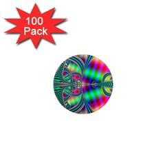 Modern Art 1  Mini Button Magnet (100 Pack) by Siebenhuehner