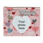 Kiss and Hug XL Cosmetic Bag - Cosmetic Bag (XL)