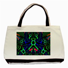 Dsign Twin Sided Black Tote Bag by Siebenhuehner