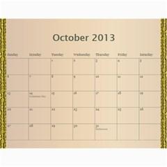 Mom Final By Terry   Wall Calendar 11  X 8 5  (12 Months)   Eaxgx8h0k9ek   Www Artscow Com Oct 2013