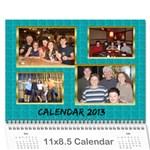 2013 final - Wall Calendar 11  x 8.5  (12-Months)