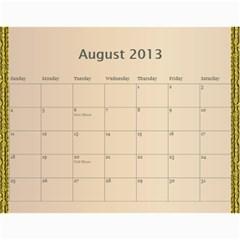 2013 Final By Terry   Wall Calendar 11  X 8 5  (12 Months)   Elkp8ibittec   Www Artscow Com Aug 2013