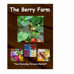 Berry Farm Flag By Kellyjanine2 Yahoo Com   Large Garden Flag (two Sides)   Ncjri7h3wzd9   Www Artscow Com Front