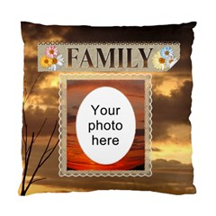 Family Cushion Case (2 Sides) By Lil    Standard Cushion Case (two Sides)   Uq5zb5tc8il6   Www Artscow Com Front