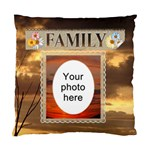 Family Cushion Case (2 Sides) - Standard Cushion Case (Two Sides)