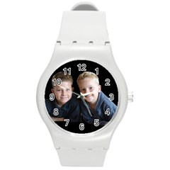Deborah Veatch New Pic Design7  Plastic Sport Watch (medium) by tammystotesandtreasures