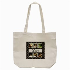 Love Days Tote Bag By Deborah   Tote Bag (cream)   Lig0nol0o8dy   Www Artscow Com Back
