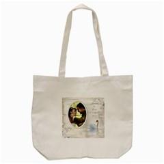 Ourlove Days Tote Bag By Deborah   Tote Bag (cream)   6odapt2rhlu5   Www Artscow Com Front