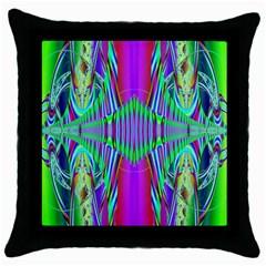 Modern Design Black Throw Pillow Case by Siebenhuehner
