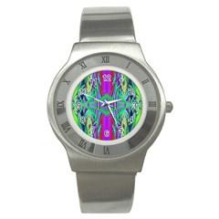 Modern Design Stainless Steel Watch (unisex) by Siebenhuehner