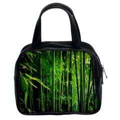 Bamboo Classic Handbag (two Sides) by Siebenhuehner