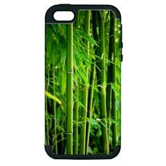 Bamboo Apple Iphone 5 Hardshell Case (pc+silicone) by Siebenhuehner