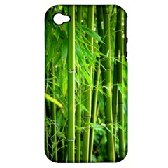 Bamboo Apple Iphone 4/4s Hardshell Case (pc+silicone) by Siebenhuehner