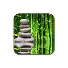 Balance  Drink Coaster (square) by Siebenhuehner