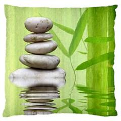 Balance Large Cushion Case (two Sided)  by Siebenhuehner